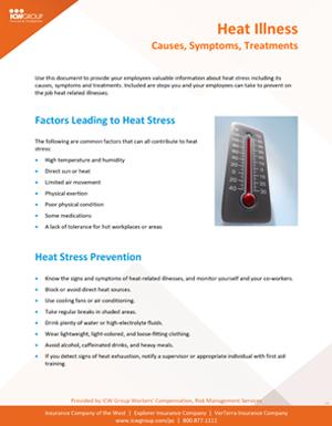 Heat Illness Prevention - Policyholder Center