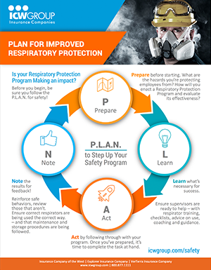 Plan for Improved Respiratory Protection