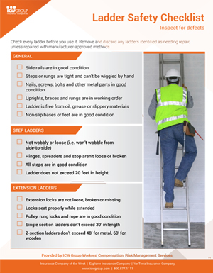Think Before You Climb: Helping Employees Use Ladders Safely