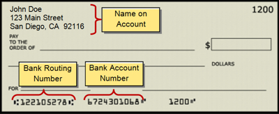 Payment invoice statement with policy number circled