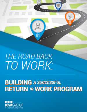 Presentation slides from the Building a Successful Return to Work Program webinar