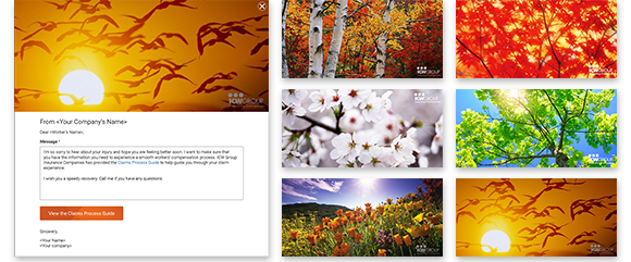 Samples of ECard images