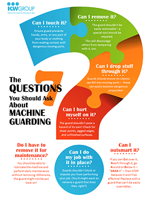 7 Questions to Ask About Machine Guarding Flyers