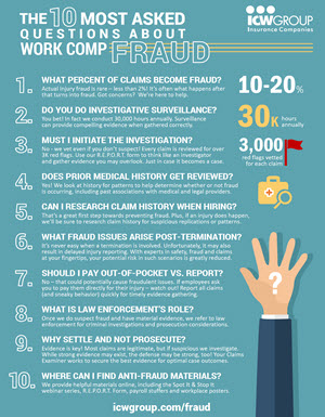 ICW Group Workers Compensation Fraud: 10 Most Asked Questions