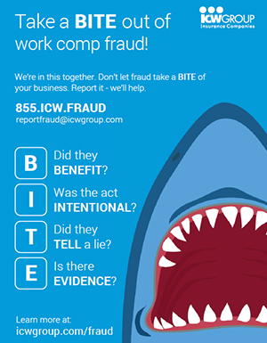 Take a BITE out of fraud flyer