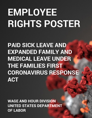 Families First Coronavirus Response Act (FFCRA) - Employee Rights Poster