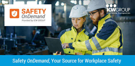 Safety OnDemand, your source for workplace safety