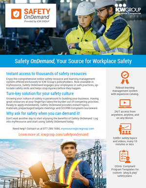 Safety OnDemand - Your Source for Workplace Safety
