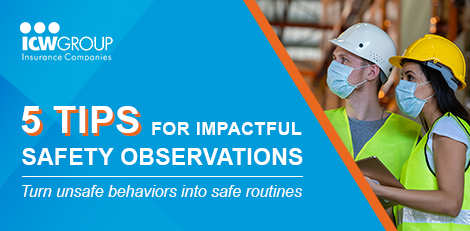 Webinar: 5 tips for impactful safety observations