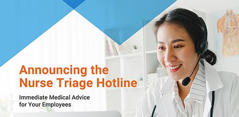 ICW Group's Nurse Triage Hotline.