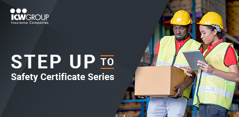 ICW Group's Step up to safety certificate series.