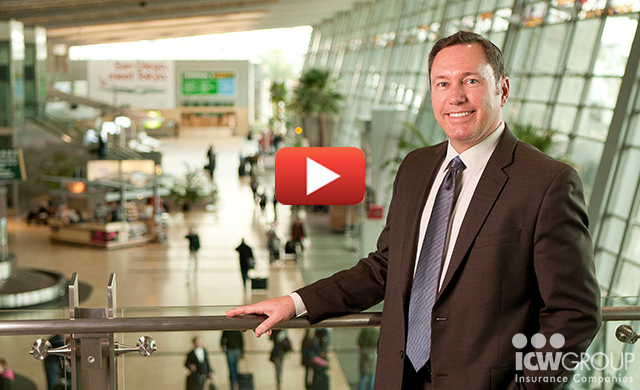Jeff Lindeman of San Diego County Regional Airport Authority's customer testimonial page.