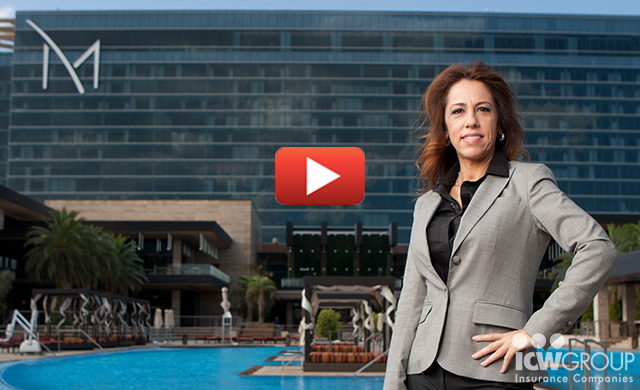 Veronica Fuentes of M Resort Spa Casino's customer testimonial page.
