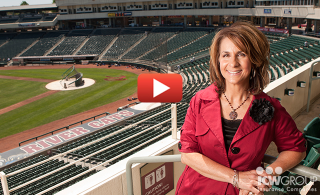 Grace Bailey of the Sacramento River Cats' customer testimonial page.