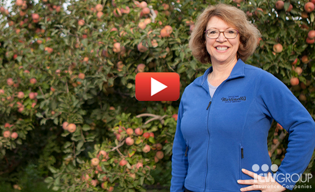 Julie Lambert of S. Martinelli & Company's customer testimonial page.