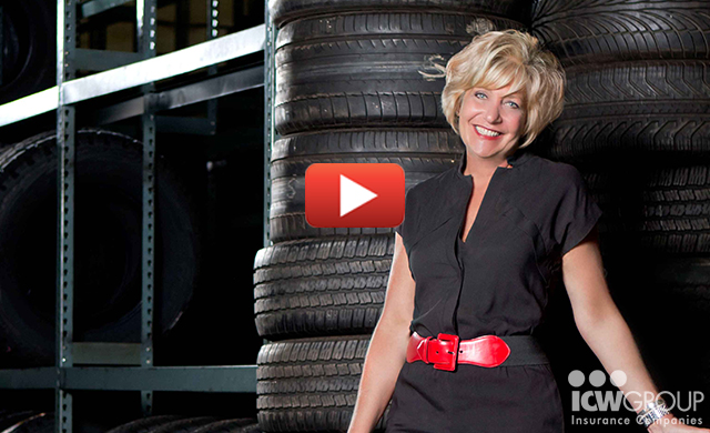 Annie D'Alessandro of Wilson Way Tire Company's customer testimonial page.