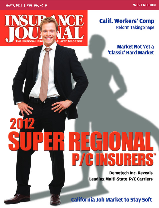 ICW Group Named 2012 Super Regional Property / Casualty Insurer
