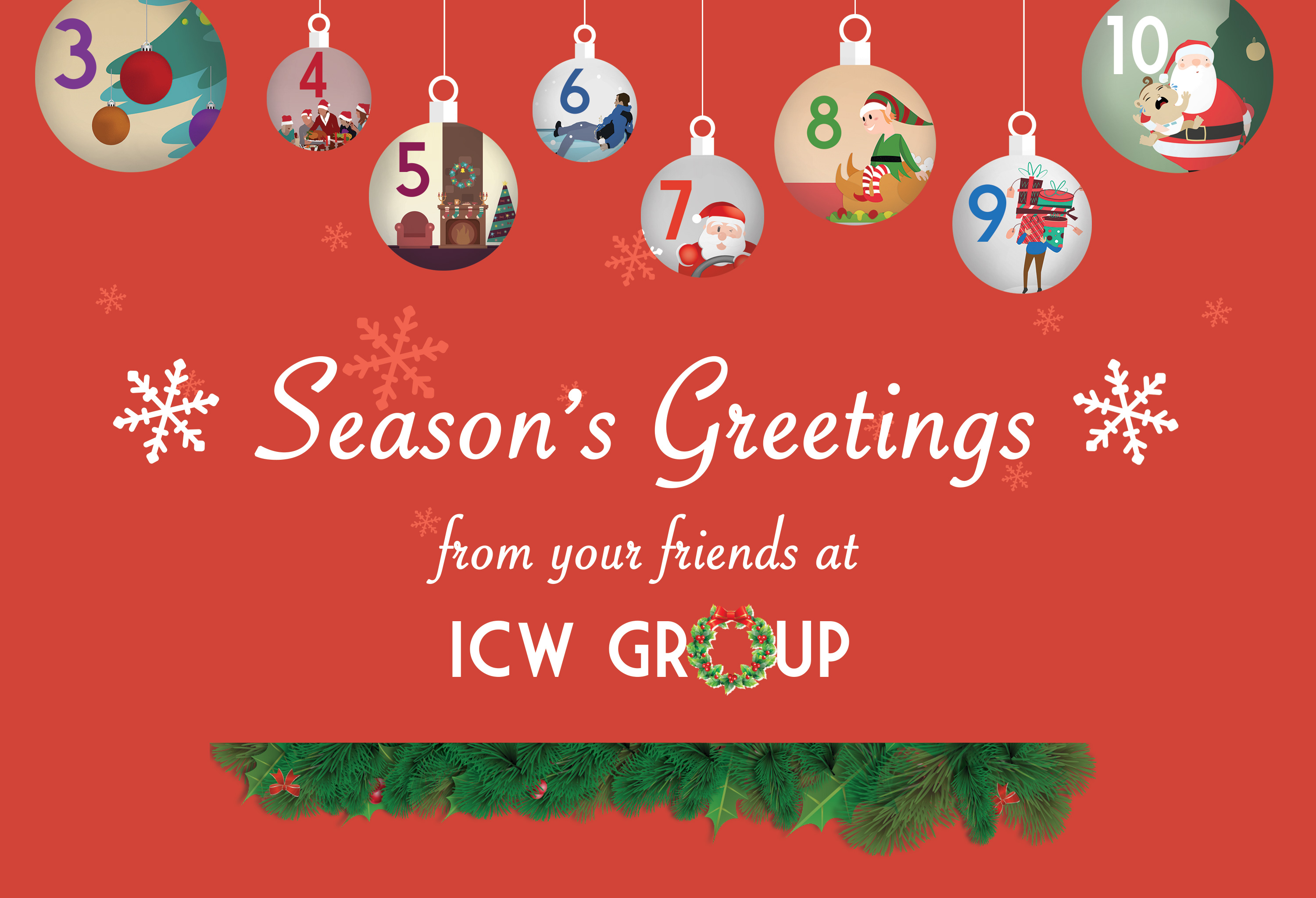 Holiday Card 2015 Bg Ornaments Red Slice 3 Icw Group