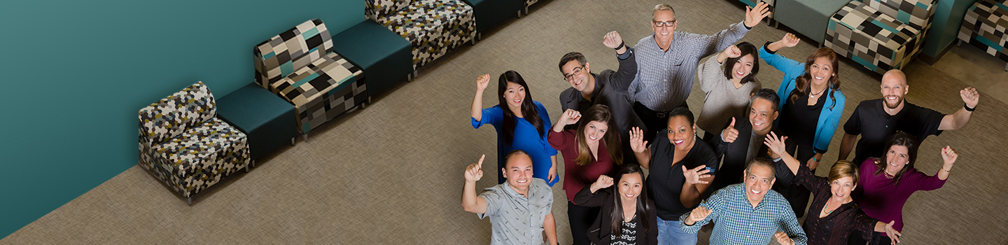 Enthusiastic ICW Group team members