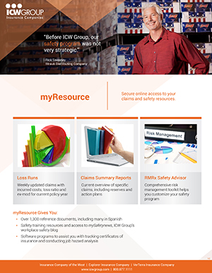 ICW Group myResource Information PDF Thumbnail